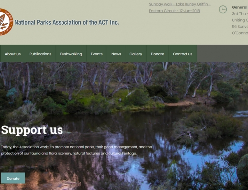 National Parks Association of the ACT